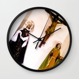 Virgins and Jesus. Wall Clock