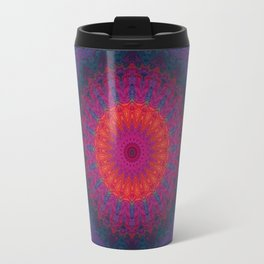 Lacy Mandala Travel Mug