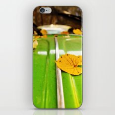Leaves on a bug iPhone & iPod Skin