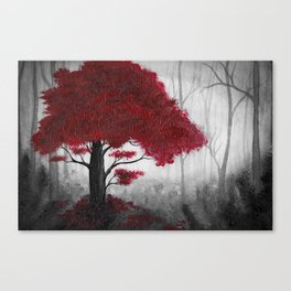 The Dark Forest (color) Canvas Print