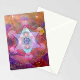 Sacred Geometry vision Stationery Cards