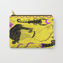 Yellow Undercut Carry-All Pouch
