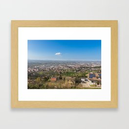 Chieti Scalo Framed Art Print
