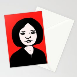 Cutout Red Stationery Cards