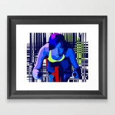 Spin2 Framed Art Print