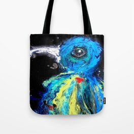 The Flickering Warrior Tote Bag