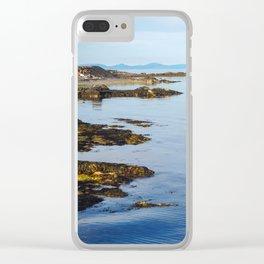Westfjords Landscape, Iceland Clear iPhone Case