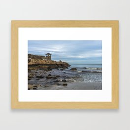 Front Beach 12-4-19 Framed Art Print