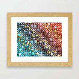 Wonder Pattern Framed Art Print
