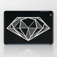 diamond iPad Cases featuring Diamond by stephanie nichole