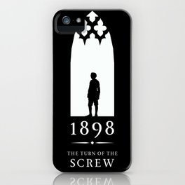 A Century of Horror Classics :: Turn of the Screw iPhone Case