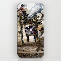 truck iPhone & iPod Skins featuring Monster Truck by Jonathan Sims