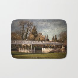 Whitchurch on Thames Toll Bridge Bath Mat