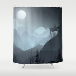 Iron Giant Shower Curtain