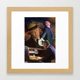 Raymond Reddington | Take me to church. Framed Art Print