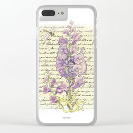 Snap Dragon Clear iPhone Case