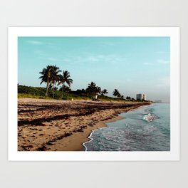 hollywood, florida Art Print