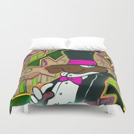 Free-wall 3 Duvet Cover