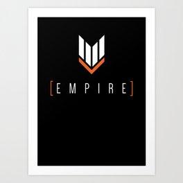 fraseR - Empire Gaming Shirt Art Print