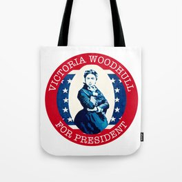 Victoria Woodhull Tote Bag