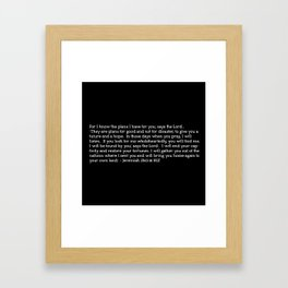 Bright Future Framed Art Print
