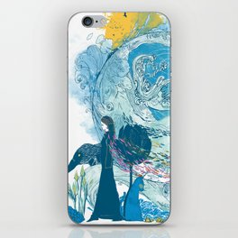 i love my planet 2 iPhone Skin