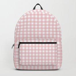 light pink squares Backpack