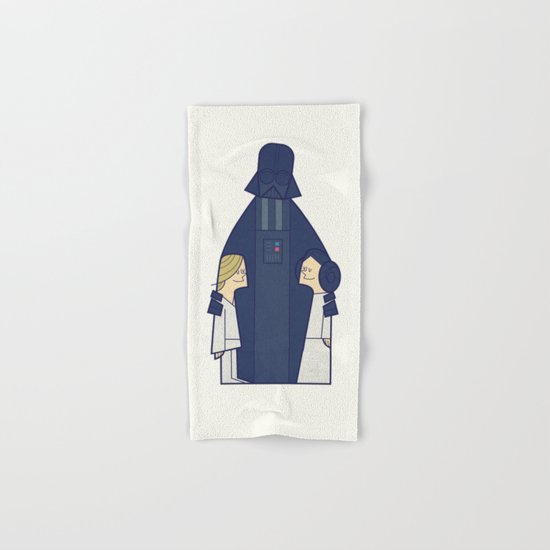 May the Love be with you Hand & Bath Towel