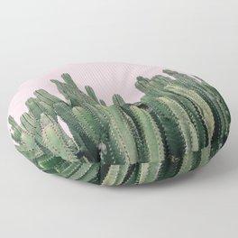 Pink Sky Cactus Floor Pillow