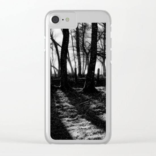 If You Go Down to the Woods Today... Clear iPhone Case
