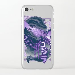 Shin Atomic Fire Born! Clear iPhone Case