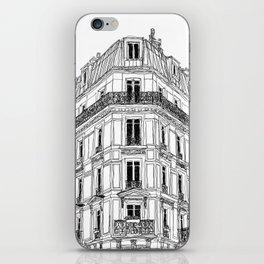 Parisian Facade iPhone Skin