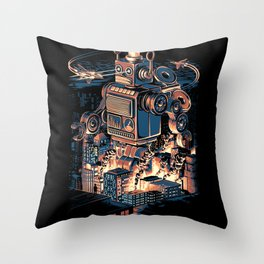 Night of the Toy Throw Pillow