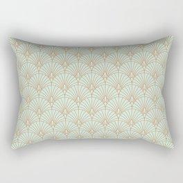 Art Deco fan pattern Rectangular Pillow