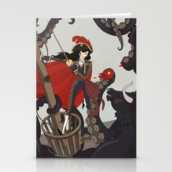 Nautical Matador Stationery Cards