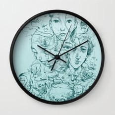 Elliott Chocolate Wormwood Wall Clock