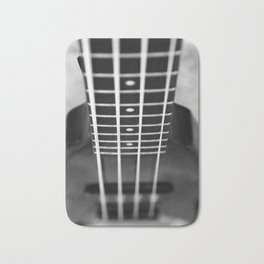 bass guitar Bath Mat