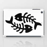 pisces iPad Cases featuring Pisces by muchö