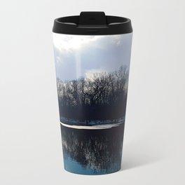 Winter reflections Metal Travel Mug