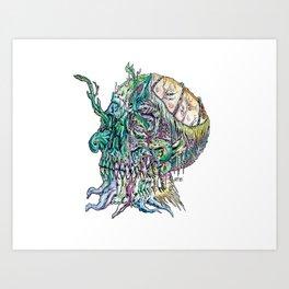 Undead Time Art Print