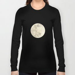 The Flower of Life Moon 2 Long Sleeve T-shirt