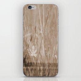 Landscape behind the dike iPhone Skin
