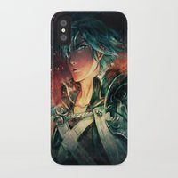 fresh prince iPhone & iPod Cases featuring Fresh Prince of Ylisse by Alice X. Zhang