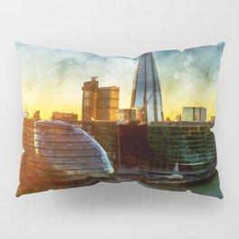 london-sunset-river-thames Pillow Sham