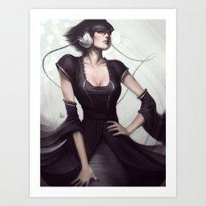 Pepper Vogue Art Print