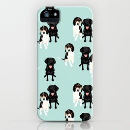 Jasper and Bella Pattern iPhone Case