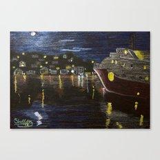 Moonlit Carenage Canvas Print