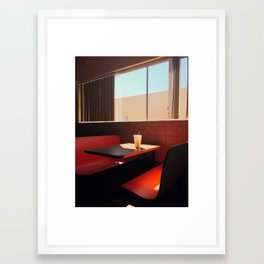 Horchata Framed Art Print