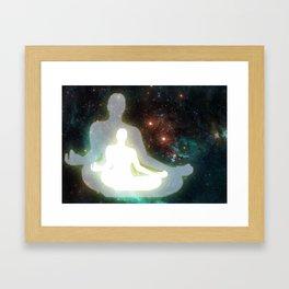 meditation Framed Art Print