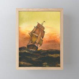 William #9 Framed Mini Art Print